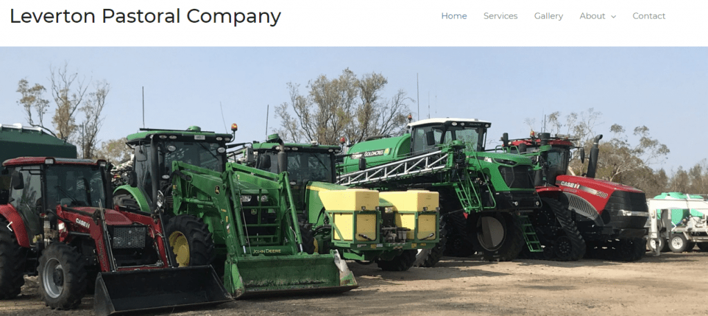 Leverton Pastoral Company Website by North West Marketing