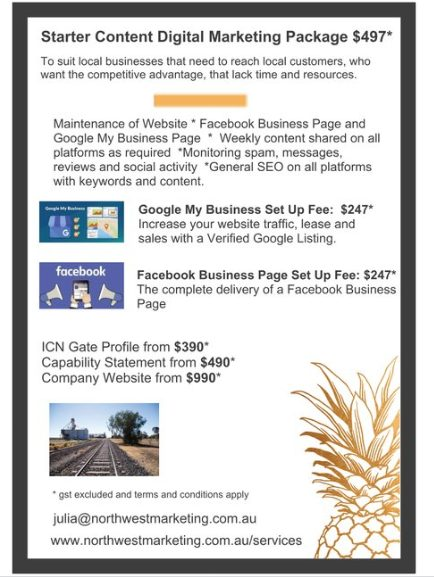 Northwest Marketing Social Media Website Prices